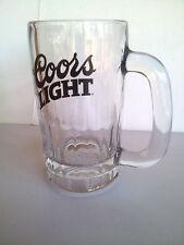 Coors Light Glass Beer Mug