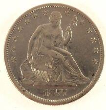 1877-S Seated Liberty Half Dollar - AU Condition
