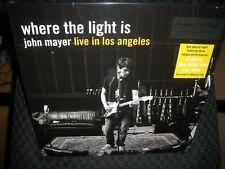JOHN MAYER Where the Light Is John Mayer Live in Los Angeles NEW RECORD LP VINYL