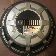 """EVX150-A 15"""" WOOFER 1000 watts program"""