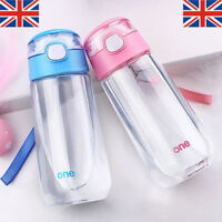 500ml Kids Children Outdoor Portable Juice Bottle Water Bottle With Straw Latest