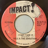 Dell & The Sensations - I Can't Take It / Why Lie 45 Impact Reggae Funk Soul mp3