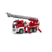 NEW Bruder Toys,02771 Man TGA Fire Engine-Water Pump, Lights & Sound FREE SHIP!!