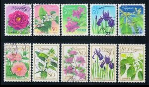 R763 Japan stamp 2010 The second prefectural flower (7) used