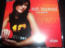Leah Haywood ‎– Just To Make You Australian Promo CD Single – Like New