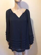 Mint Velvet Black Blouse Size 10
