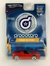 Hot Wheels Dropstars G7070 Ferrari 360 Spider Red New 2004