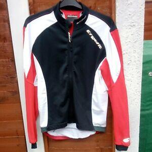 Black & Red ALTURA Fitness Stretch Top Jersey UK XL
