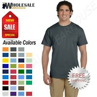 Gildan Mens Short Sleeves Heavy Weight Cotton 6 oz S-5XL T-Shirt M-G200