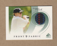 Raymond Floyd 2002 SP Authentic GameUsed Front 9 Fabric card # F9S-RF-Near Mint