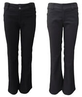 AJOY BLACK & CHARCOAL GREY BOOTCUT TAILORED DRESS PANTS. SIZES 6,8,10,12,14,16.