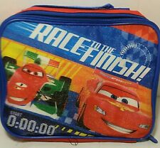 Disney Pixar Cars Race To The Finish Lunch Bag Insulated Lunch Box Childs Lunch