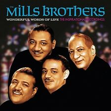 The Mills Brothers - Wonderful Words Of Life - Inspirational Recordings [New CD]