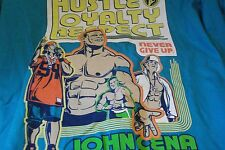 "John Cena ""Hustle Loyalty Respect: Never Give Up"" - WWE New 4XL T-Shirt"