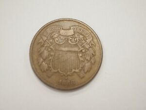 1868 2C Two Cent Piece # 403