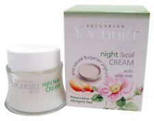 Bulgarian Yoghurt Skin Night Face Cream w/ Wild Rose, Lactobacillus Bulgaricus