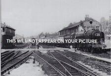 Exeter St Davids railway station  Britannia Pacific     1952
