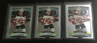 3x 2019-20 O-PEE-CHEE Platinum JACK HUGHES Marquee Rookie New Jersey Devils