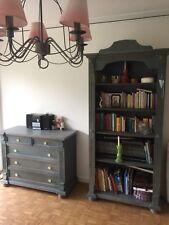 Schlafzimmer Kinderzimmer komplett Set gebraucht Landhaus-Stil Shabby Chic Blau