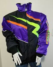 NWT Arctic Cat 2in1 Womens MT 90's Neon Color Block Lighting Purple Ski Jacket