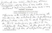 🌓Le journaliste PIERRE AUDINET encense LOUISE CONTE Rodogune Cléopâtre 1965