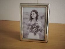 Wedding gift Handmade Sterling Silver Photo Picture Frame*1020/13×18 GBnew