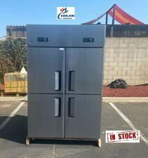 New Four Door Commercial Freezer 48 X 29 X 75 Reach In 110v Model Al32