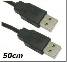 50cm USB Male to Male ( A to A ) Lead Cable PC Laptop
