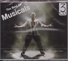 BEST OF MUSICALS - VARIOUS ARTISTS on 3 CD's - NEW -