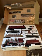 Bachmann Big Haulers Red Comet G Scale Train Set- Excellent Condition