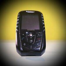 Siemens  SX1 - Schwarz (Ohne Simlock) Handy mit Zubehör