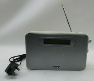 Sony XDR S20 DAB/FM Portable Radio Electrical and Battery Powered.