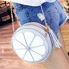 Women Shoulder Bag Fruit Shape Satchel Messenger Crossbody Handbag Purse Fashion