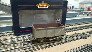 Bachmann 37-253 BR Grey 16 Ton Steel Mineral Wagon Weathered Bxd Ex Con