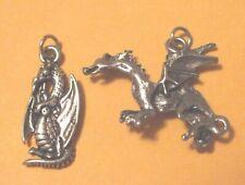 Dragon Pewter / Charms Pendants New. Harry Potter Fantasy Mythology Creature 12