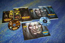 Warcraft III Reign of Chaos PC juego Warcraft III Frozen Throne u. solución libros