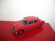 peugeot 404 rouge les voitures de mon père 1/43 atlas