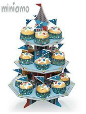 castle cupcake stand boys themed birthday party