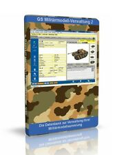 Militärmodell-Verwaltung 2 - Software zur Verwaltung Ihrer Militärmodelle