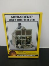 Woodland Scenics HO Floyd's Barber Shop kit #M-111