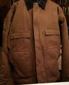 BERNE Men's Bark 100% Cotton Chore Coat 3XLT