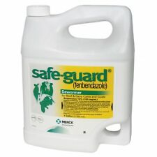 Safeguard Dewormer for Cattle Intestinal Parasites Worms Fenbendazole 10% Gallon