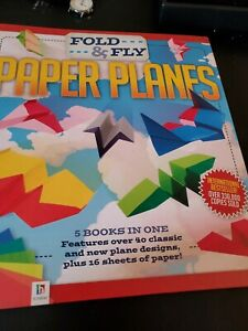 Origami Making Book (Fold & Fly Paper Planes) kids crafts