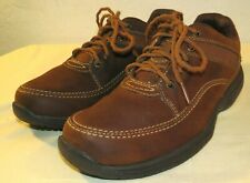 Rockport Men's Waldron Ledge World Tour Shoes Brown Size 9 W (Wide)