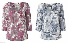 WHITE STUFF Floral Viscose Scoop Neck Women's Tops & Shirts
