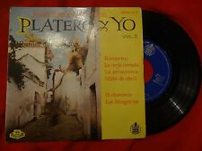 """JUAN RAMON JIMENEZ Platero Y Yo 2 ( Retorno 3+ )  EP 7"""" (EX-/EX-) G"""