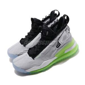 Nike Jordan Proto-Max 720 Aluminum Grey Neon Volt Men Shoes Sneakers BQ6623-007