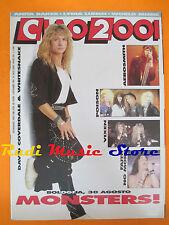 rivista CIAO 2001 34/1990 POSTER De Gregori David Coverdale Anita Baker * No cd