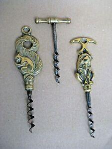 Antique cork screws