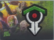 2013 Mars Attacks Invasion  Topps PATCH RELIC  insert  Card #MP-10